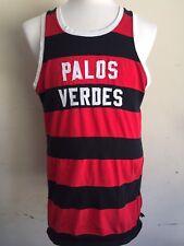 Palos Verdes Vintage 50-60's Track & Field Tank Top T-Shirt Jersey Size Large