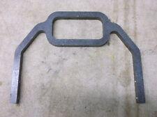 Big Dog #BD16012 Raw Steel Mini Lowboy Sissy Bar Adaptable to Custom Choppers