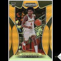 2019-20 Panini Prizm Draft Picks Neon Orange /149 Kevin Porter Jr RC #30 Rookie