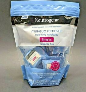 Neutrogena Fragrance Free Makeup Remover Cleansing Towelette Singles - 20 Count