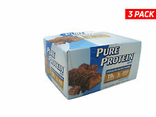 Pure Protein Bar, Chclt Salted Caramel - 1.76oz each - W/ COLD PACK - 3 Boxes