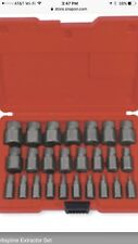 New Snap On REX25B 25 Pc. Multispline Extractor Set