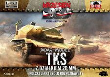 First to Fight 1/72 Polish TKS Reconnaissance Tank # 001