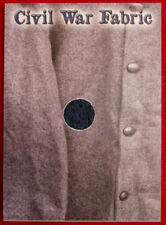 CIVIL WAR CHRONICLES - CIVIL WAR FABRIC CARD CWF1 - VARIANT B - Historic Relic