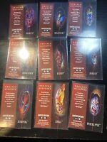 1995 Fleer Ultra X-Men Hunters & Stalkers Complete Set (9 Cards) Limited Edition