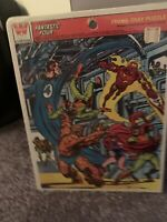 FANTASTIC FOUR Frame-Tray Puzzle  1977 Never Opened Sealed New