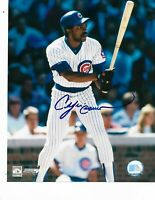 Andre Dawson Chicago Cubs Autographed 8X10 Photo