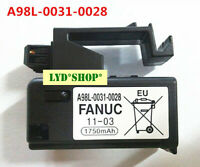 for NEW FANUC A98L-0031-0028 A02B-0323-K102 1750mAH PLC battery