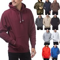 PROCLUB Mens PULLOVER HOODIE Sweatshirts Heavyweight S-5XL Big Size Premium