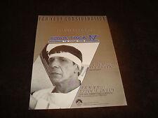 STAR TREK IV 1987 Oscar ad Leonard Nimoy as Spock & CHILDREN OF A LESSER GOD