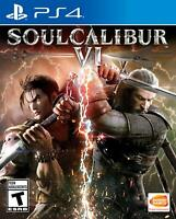 SOULCALIBUR VI 6 (Sony PlayStation 4, 2018) Brand New / Factory Sealed FAST SHIP
