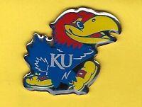 Kansas Jayhawks KU Bird Logo (right) Hat/Lapel Pin by Game Day, Big 12, NCAA
