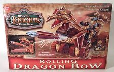Mystic Knights Of Tir Na Nog Rolling Dragon Bow Bandai 1998 Forest Knight Sealed