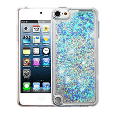 for Apple iPod Touch 5th Gen/6th Gen Hard TPU Glitter Case Cover Blue
