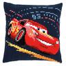 Disney's Cars 'Lightning McQueen' Cross Stitch Cushion Kit