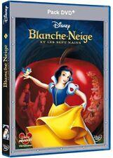 BLANCHE NEIGE [WALT DISNEY] / PACK BLU-RAY + DVD NEUF SOUS BLISTER D'ORIGINE VF