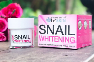 Le' Skin Snail Whitening Facial Cream Secretion Filtrate Moisture 50g