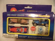 Toy die cast toy vehicle Racing set of 3 + sings