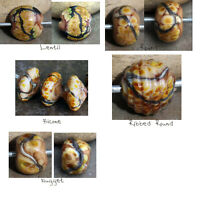 Savannah -  Handmade Glass Lampwork Beads MTO - Choose your shape!