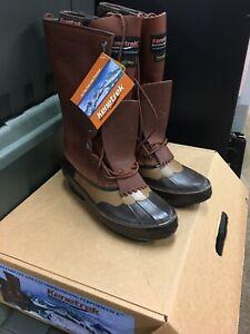 """Kenetrek 13"""" Cowgirl Pac Boots Brown Size 10 KE-1429-L-10 Cowboy Sz8"""