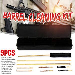 ❤ Barrel Cleaning Kits Air Rifle Brush Pistol Gun Airgun Rimfire .177 &