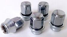FORD ghia AUTO DADI DELLA RUOTA sulla manica con rondella. Set di 5 x m12 x 1.5 19mm Hex