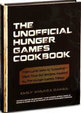 NEW! The Unofficial Hunger Games Cookbook Emily Baines Suzanne Collins HC BOOK