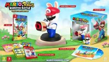 "MARIO + RABBIDS KINGDOM BATTLE COLLECTOR EDITION Nintedo Switch ""NEW"" SEALED"