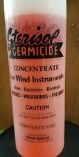 Sterisol Germicide Concentrate for Wind Instruments 8oz bottle Brass Woodwind
