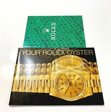 Vintage Genuine Your Rolex Oyster Booklet 1990's Instructions Manual Brochure