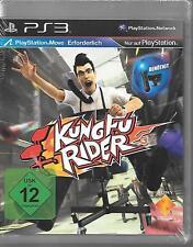 PS3 `Kung Fu Rider (Move erforderlich)` Neu/OVP PlayStation 3