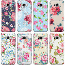 DYEFOR SHABBY CHIC FLORAL FLOWERS PHONE CASE COVER FOR SAMSUNG GALAXY PHONES 2