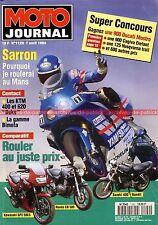 MOTO JOURNAL 1129 KAWASAKI GPZ 500 S HONDA CB KTM 620 Duke SUZUKI GSX Bandit 400