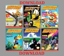 NINTENDO POWER MAGAZINE 1988-1995 COLLECTION ON DOWNLOAD