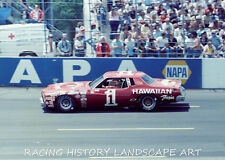 1979 8X10 PHOTO CHARLOTTE WORLD 600 #1 DONNIE ALLISON CHEVROLET HAWAIIAN NASCAR