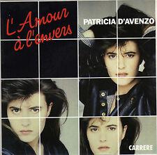 PATRICIA D'AVENZO L'AMOUR A L'ENVERS / INSTRUMENTAL FRENCH 45 SINGLE