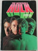 ANNUAL - *Unclipped* The Incredible Hulk Annual 1979 Marvel Comics Grandreams HB