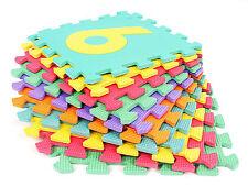 Puzzlematte Zahlen  Puzzleteppich Lernspielzeug Spielteppich Ziffern Spielmatte