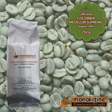 Caffè Verde in Grani Colombia Medellin Supremo 250 gr - Caffè Arabica 100%