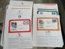 You Choose: Pick 5 Us Stamps Pcs Addressed Panels Sheets Fdc Cachet 1989-2013