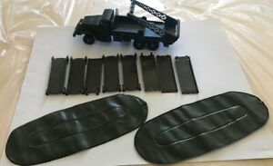 ancien camion brockway militaire dinky toy 884 metal jeux jouet