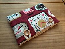 Handmade with Cath Kidston Clocks Fabric - Kindle Fire HD 6 Padded Case