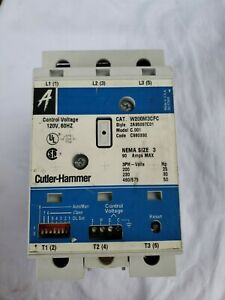 Cutler Hammer W200M3CFC Advantage Series Motor Starter Size 3. See CONTACT PICS
