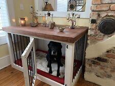Wooden dog kennel