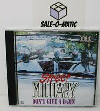 STREET MILITARY - DON'T GIVE A DAMN CD (EP) 1993 HIP HOP GANGSTA