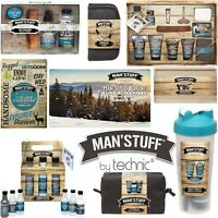Technic Man'Stuff Men Christmas Gift Sets Toiletry Bath Body Wash Soap Xmas Man