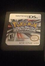 Pokemon -- Platinum Version (Nintendo DS, 2009) 3DS LITE (US SELLER)