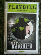 Wicked the musical playbill  10th Anniversary edition NYC Broadway Derek Klena