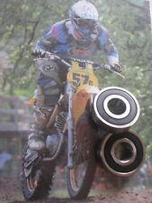 Yamaha MX360 DT360 MX DT 360 FRONT Wheel bearings SET NEW!
