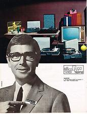 PUBLICITE ADVERTISING  1965   DUCRETET THOMSON téléviseur transistors